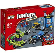 LEGO  - 10724 - Juniors - Jeu de Construction - Batman et Superman contre Lex Luthor