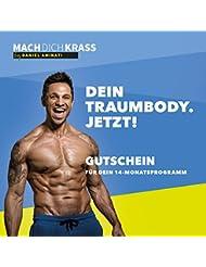 """Gutschein für das 14-Monate Fitness-Programm """"Mach dich krass"""" by Daniel Aminati"""