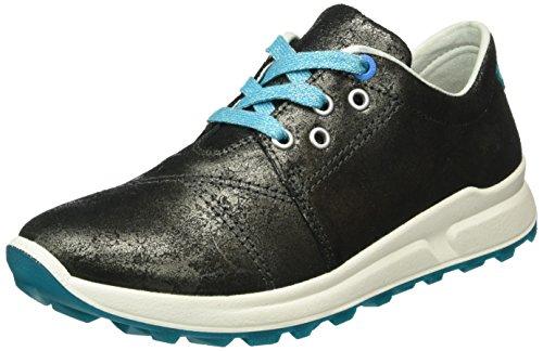 Superfit MERIDA HS 700153, Mädchen Sneakers, Rot (BURGUNDY KOMBI 44) Schwarz (SCHWARZ KOMBI 02)
