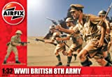 Airfix A02707 Modellbausatz WWII British 8th ARMY