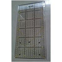 Regla de acrílico claro para collage de Patchwork herramienta costura Artesanía -30x 15cm