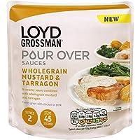 Loyd Grossman 170g Salsa De Mostaza (Paquete de 6)