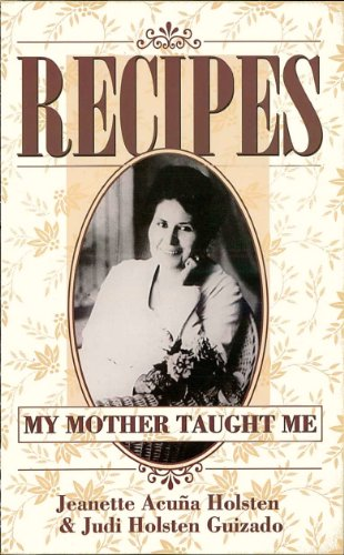 recipes-my-mother-taught-me-english-edition