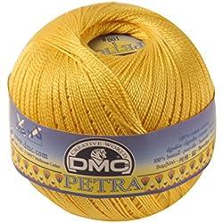 Hilo Macramé amarillo 100% Algodón mercerizado