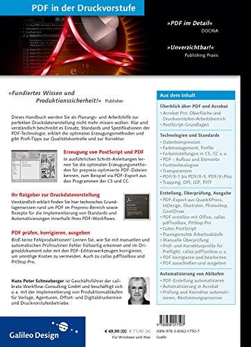 PDF in der Druckvorstufe: PDF-Dateien erstellen, korrigieren und ausgeben (Galileo Design)