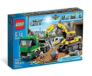 LEGO City 4203 - Grubenbagger mit Transporter (B007456TMW)   Amazon price tracker / tracking, Amazon price history charts, Amazon price watches, Amazon price drop alerts