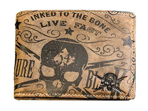 Skull Jack (Jack's Inn 54 Kollektion Rock Hard Styles - Geldbörse