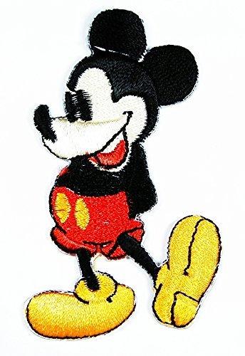 Mickey Mouse Cartoon parche bordado hierro on sombrero chaqueta con capucha mochila...