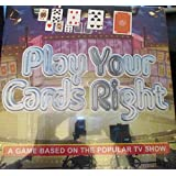 Play Your Cards Right - Board Game Based on the popular tv series