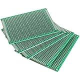 5Stk. 6×8cm Lochrasterplatte Lochrasterplatine Leiterplatte Streifenraster Platine PCB Board