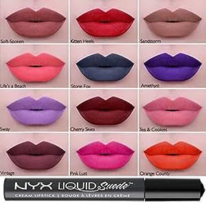 Nyx Liquid Suede 12color Full Set