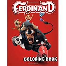 Ferdinand Coloring Book: 20 Coloring Pages With Names