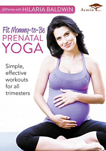 @ Home with Hilaria Baldwin: Fit Mommy-to-Be Prenatal Yoga [UK Import]