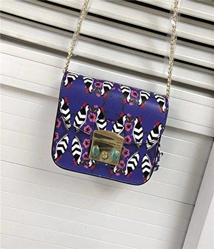 AASSDDFF Frauen Echte Messenger Bag Mini Flap Crossbody Taschen Damen Kleine Kupplungen Weiblichen Kette Tasche Mädchen,Hellgrün,18Cm8Cm12Cm (Flap Cross-body Mini-tasche)