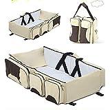 Ocamo Baby H?ngematte Wiege Baby Tragbare Reise Betten Matratze Faltbare Nest als Neugeborenen Babynest Schlaf Bett