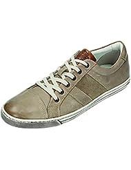 Klondike - Zapatos de cordones para hombre Marrón pardo