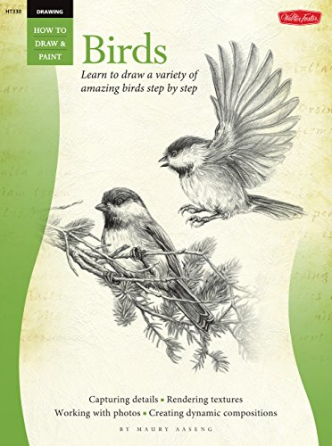 Drawing: Birds: Learn to draw a variety of amazing birds step by step (How to Draw and Paint) por Maury Aaseng