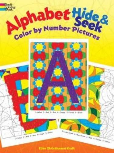 Alphabet Hide & Seek: Color by Number Pictures
