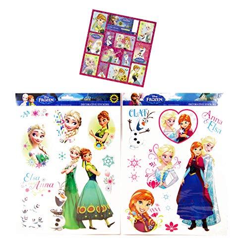 001b42addd Die Eiskönigin 19 Mega Aufkleber Sticker - Frozen fürs Fahrrad /  Fensterbilder / Wandtattoo / Wandsticker