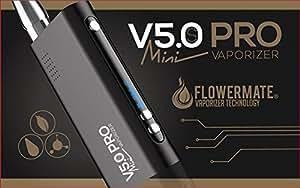 Flowermate V5.0S Pro Mini Vaporizer Schwarz