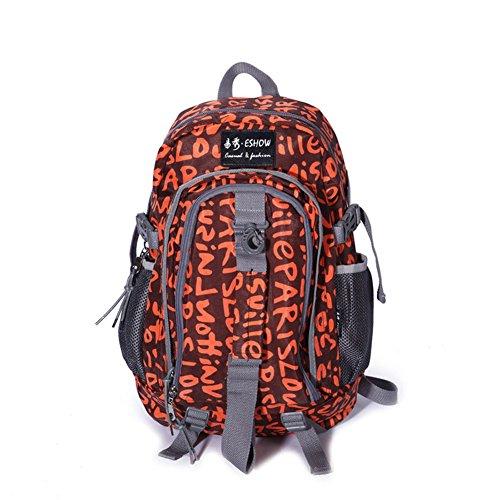 Impermeabile Zaino In Nylon/Scuola Di Korean Air Leisure Travel Bag-B A