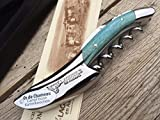 Laguiole en Aubrac Sommelier Kellnermesser SOM99O3I Os Cham Bleu C