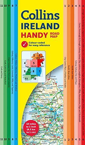 Irlanda Handy Map 1:630.000. Collins. (Maps) por VV.AA.