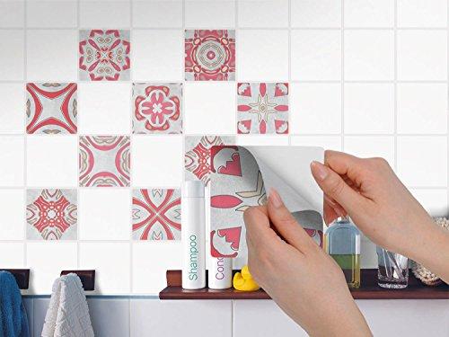 Adesivi murali in pvc autoadesivo piastrelle sticker piastrelle