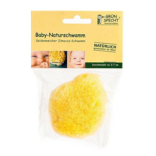 Grünspecht 510-00 Baby-Naturschwamm, Zimocca