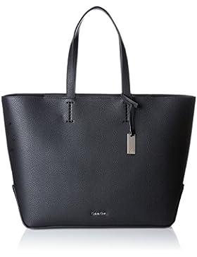 Calvin Klein Damen Edit Large Shopper Tote, Schwarz (Black), 16x36x36 cm