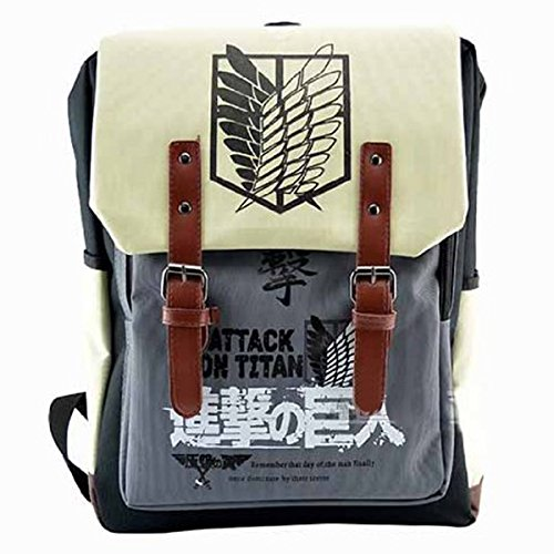 CoolChange Attack on Titan Rucksack mit (Cosplay Kostüm Rivaille)