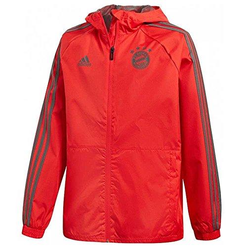 adidas 2018-2019 Bayern Munich Rain Jacket (Red)