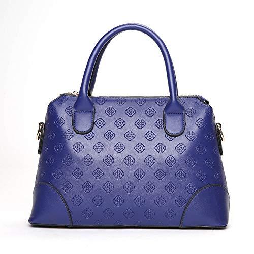WANGDANDAN Floral Embossed Women Messenger Bags Shell Große Kapazität Damen Handtasche Weibliche Umhängetaschen, 2 -