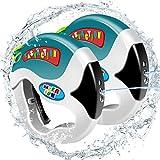 MINGKIDS Wasserpistolen Jungen Mädchen,Wasserspritzpistolen,Breiter Griff,wasserspritzpistole für Kinder Erwachsene, Strand-Schwimmen Spielt für Spiel-und Familienaktivität (2 Pcs)