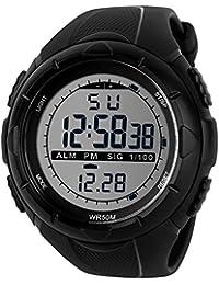 TTLIFE 1025 Unisexe Multi Function Quartz numérique LED Watch résistant à l'eau électroniques Montres Sport
