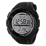 TTLIFE Unisex Multi-Funktions-Digital-LED-Quarz-Uhr-Wasser-beständige elektronische Sport-Uhren