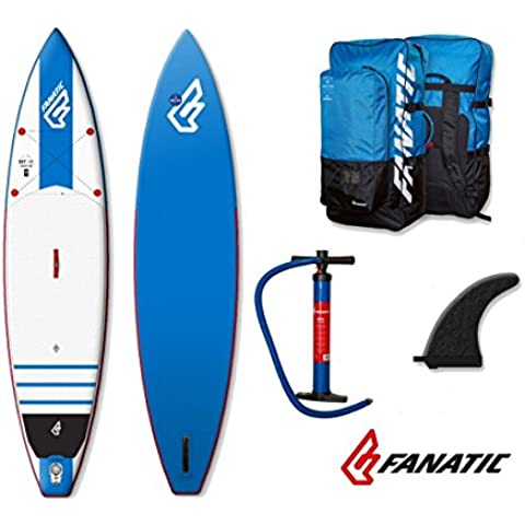 Fanatic Blu-ray Touring Air Inflatable Sup 201611.6Stand Up Paddle Board Blue