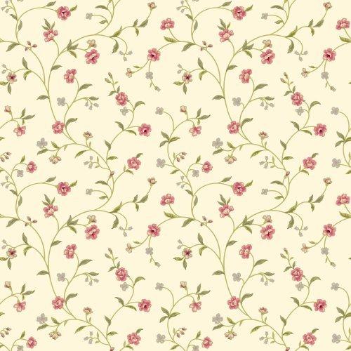 york-wallcoverings-er8189-waverly-cottage-bellisima-vine-wallpaper-rich-cream-pink-olive-green-grey-
