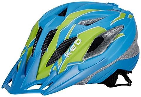 KED Street Junior Pro Helmet Blue Green Matt Kopfumfang 53-58 cm 2017 mountainbike helm downhill