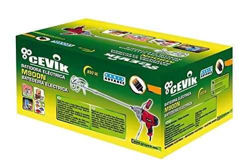 Cevik M900N Mezclador especial pintura, 850 W, 230 V, Negro