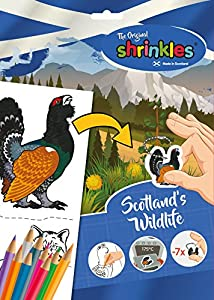 Shrinkles Shrinkles-WZ091 Original Escocia escocés Wildlife Slim Pack, Color Desconocido (Keycraft WZ091