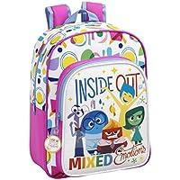 Safta Inside Out Mochila escolar, 34 cm, Multicolor