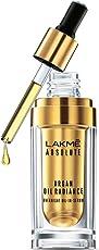 Lakme Absolute Argan Oil Radiance Overnight Oil-in-Serum, 15ml