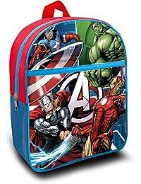 Mochila Pequeña para Niños Infantil escolar Marvel De Los Vengadores 30 x27 x 10 cm.