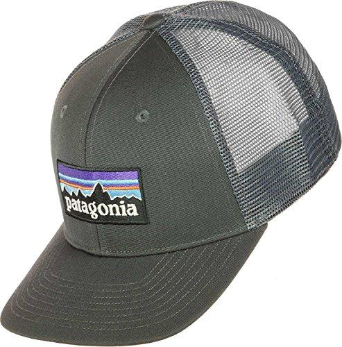 Patagonia Erwachsene Cap P-6 Logo Trucker Hat, Forge Grey, One Size, 38017-FGE