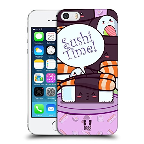 Head Case Designs Sushi Gruppe Sushi Time Snap-on Schutzhülle Back Case für Apple iPhone 6 Plus 5.5 Shrimps Nori