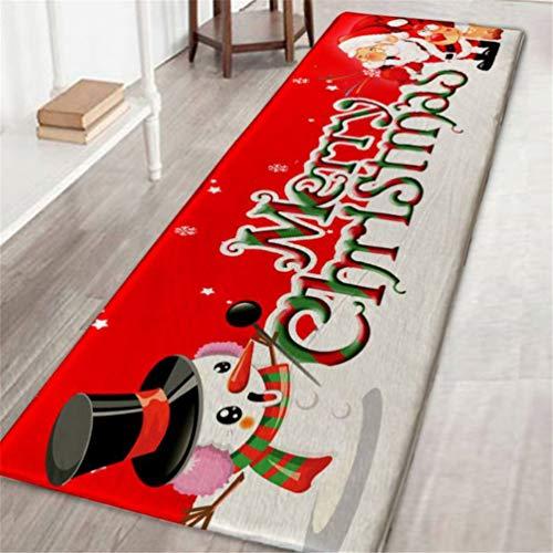 Tappeto tappeto natalizio per la casa hotel tappetino in gomma decorativa per il bagno cuscino da bagno assorbente