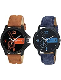 Rich Club Set Of Two Formal Watches For Men And Boys