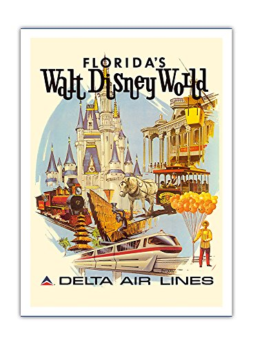 floridas-walt-disney-world-first-year-of-operation-delta-air-lines-vintage-airline-travel-poster-by-