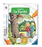 Ravensburger - 00593 -  Jeu Éducatif Électronique - Tiptoi - Livre -J'explore la Forêt...
